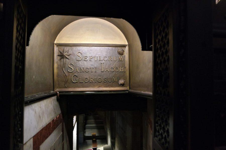 Cripta de la catedral de Santiago de Compostela