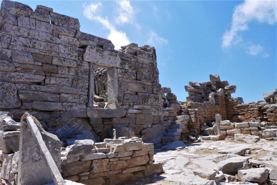 Torre helenística, ruinas clasicas que ver en Amorgos, Grecia