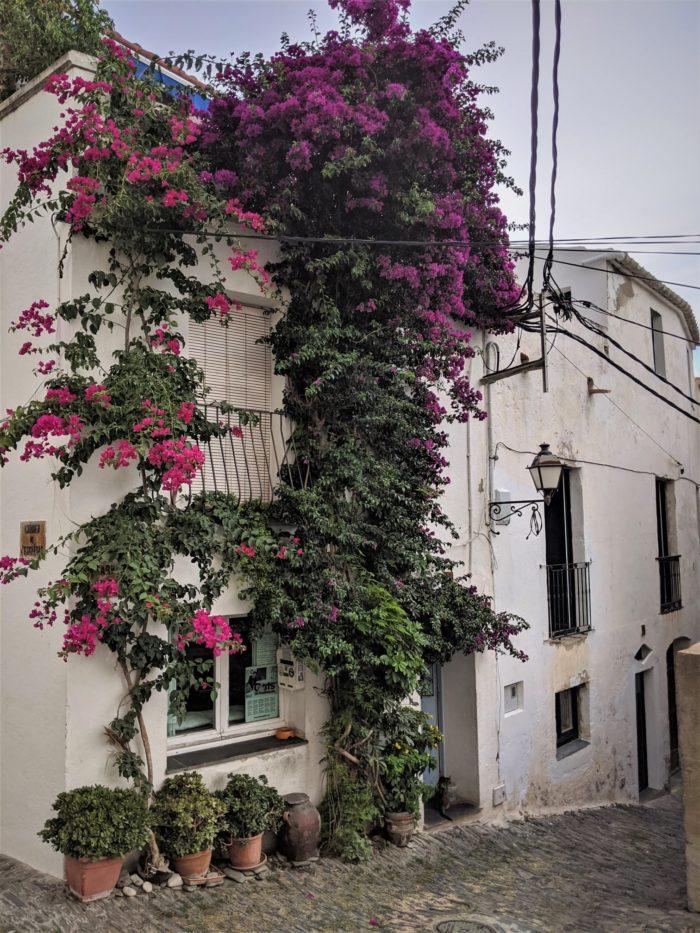 Calles de Cadaqués, Costa Brava