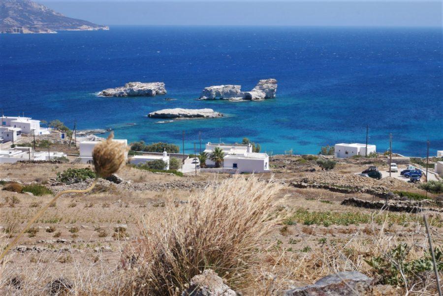 Costa de Kímolos, islas griegas