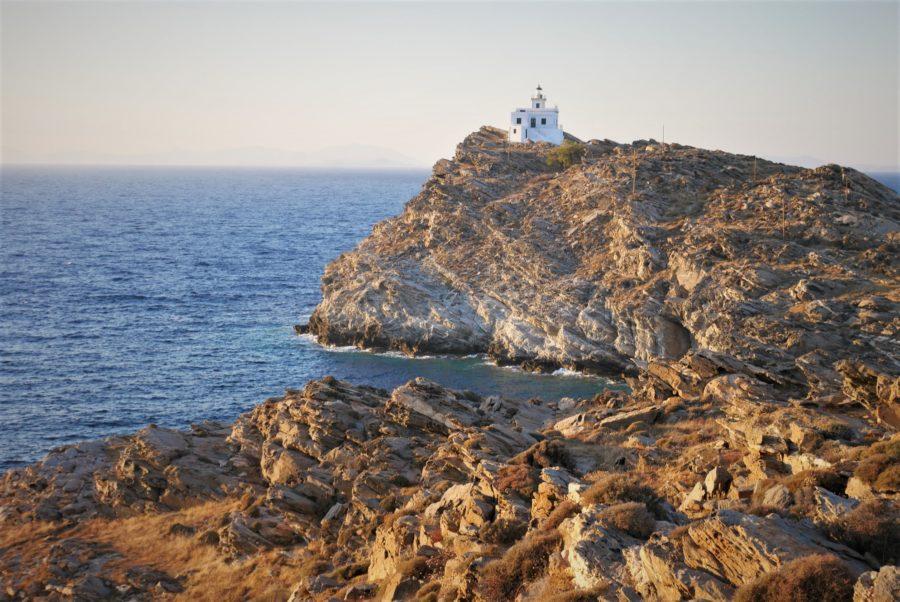 El Cabo Korakas, isla de Paros