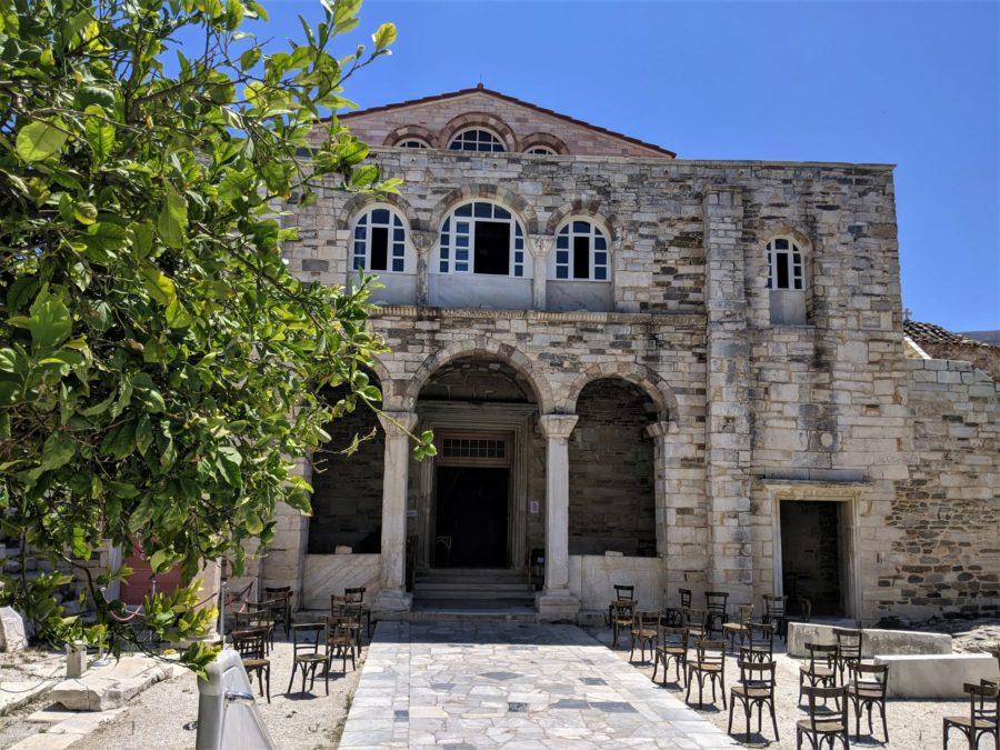 Iglesia de Anagia Ekatontapyliani, Parikia