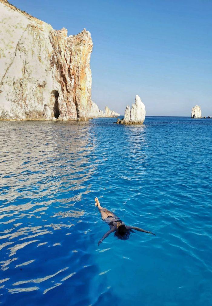 Isla de Polyagios, islas griegas