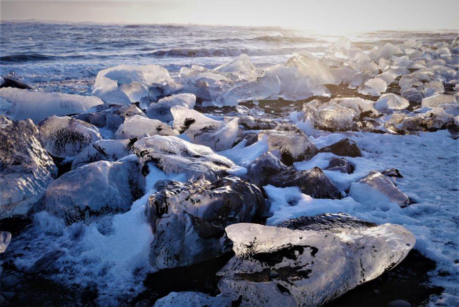 La Diamond Beach de Islandia