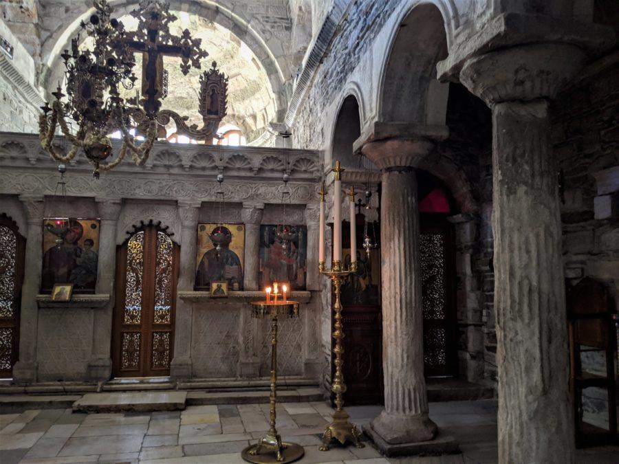 La iglesia más antigua de Paros