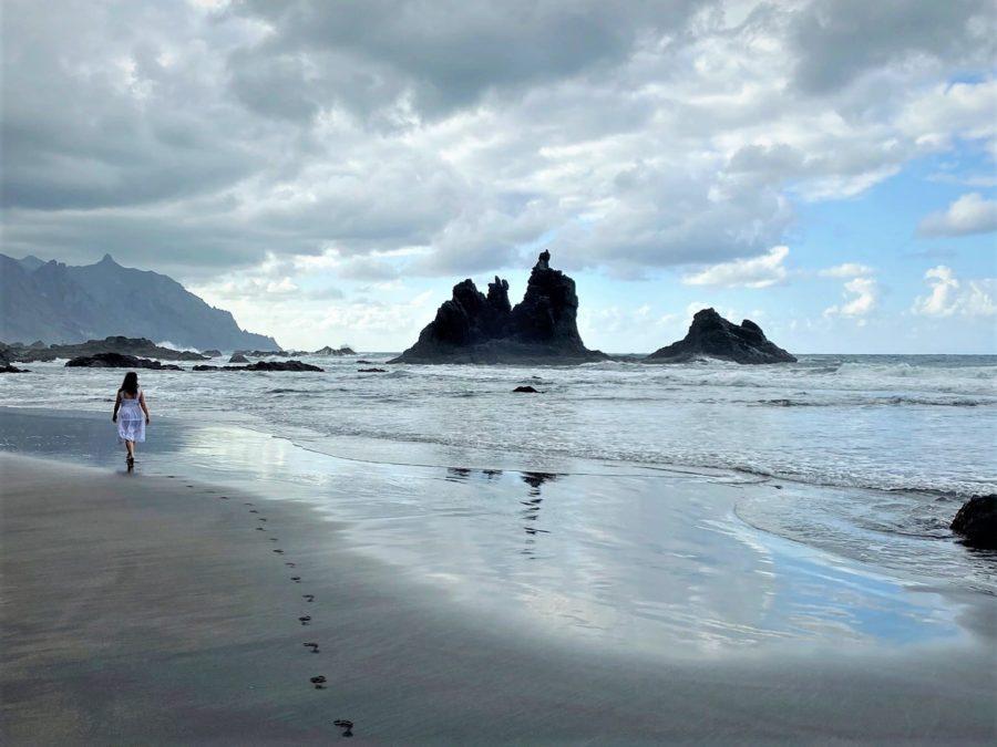 La playa de Benijo, Tenerife