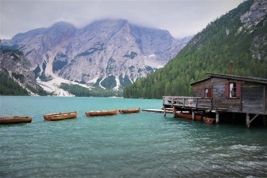Lago di Braies, ruta por los Dolomitas en coche