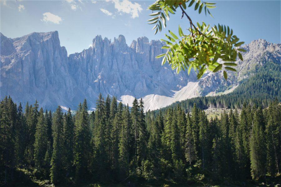 MOntañas de Latemar, lago di Carezza