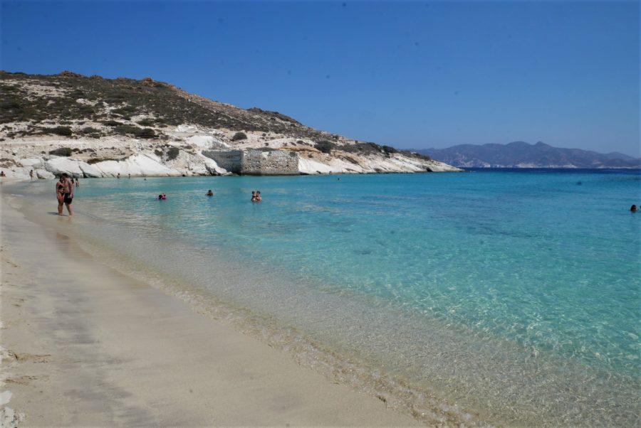Playas de Kímolos, islas griegas