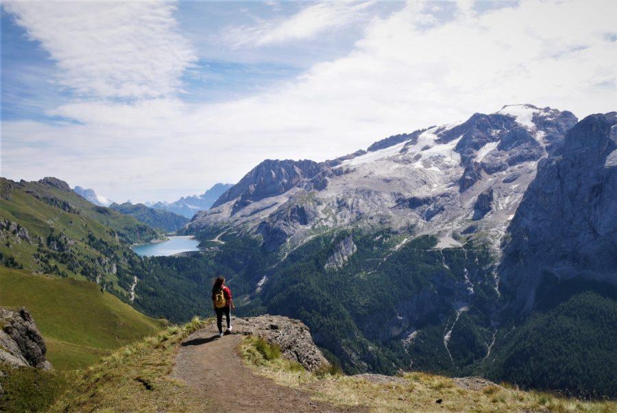 Trekking al mirador de La Marmolada, qué ver en Dolomitas