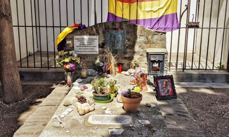 Tumba de Antonio Machado en Collioure