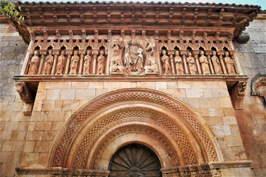 Arte románico en Palencia, iglesia de Moarves de Ojeda