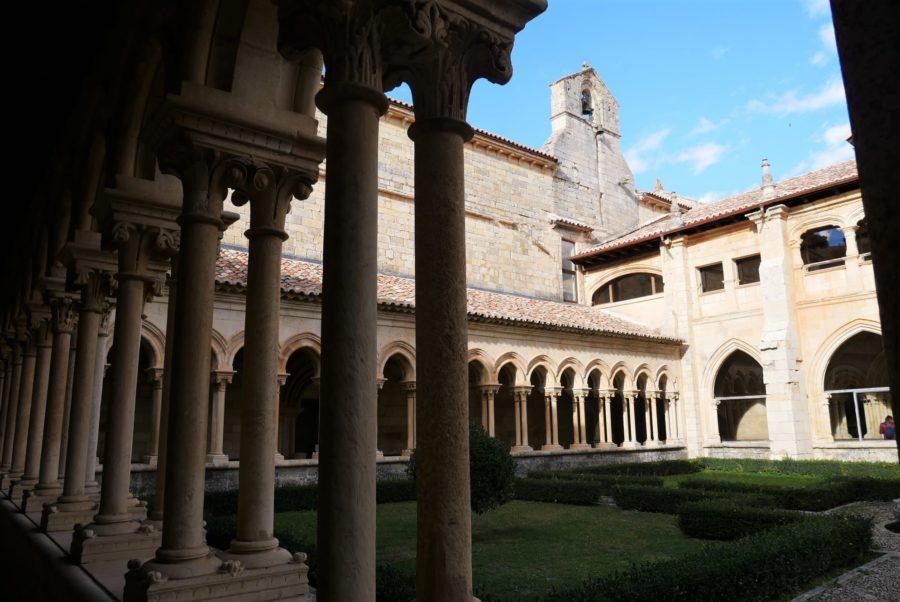 Claustro del monasterio de San Andrés, Arte Románico en Palencia