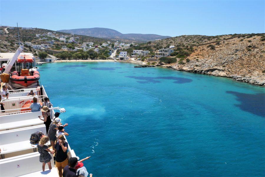 En barco por las islas griegas