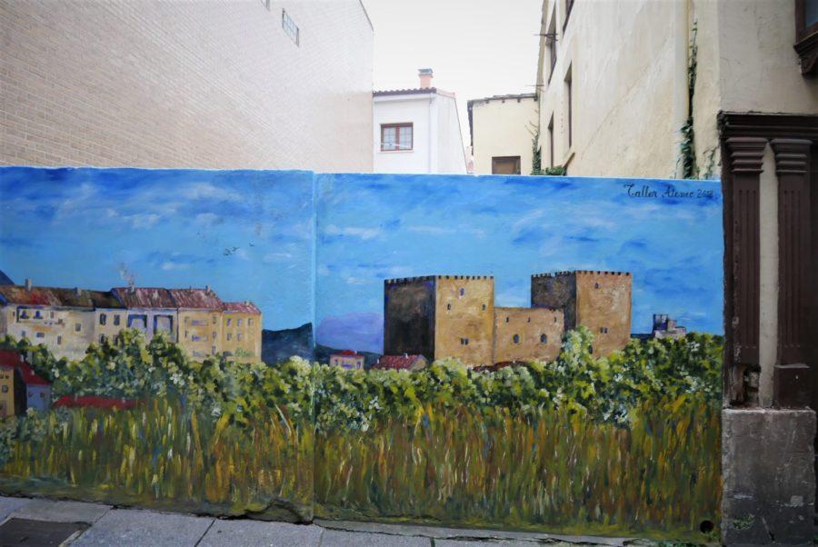 Murales de Medina de Pomar, Burgos