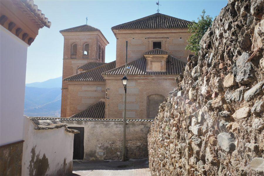 La iglesia de Laujar de Andarax