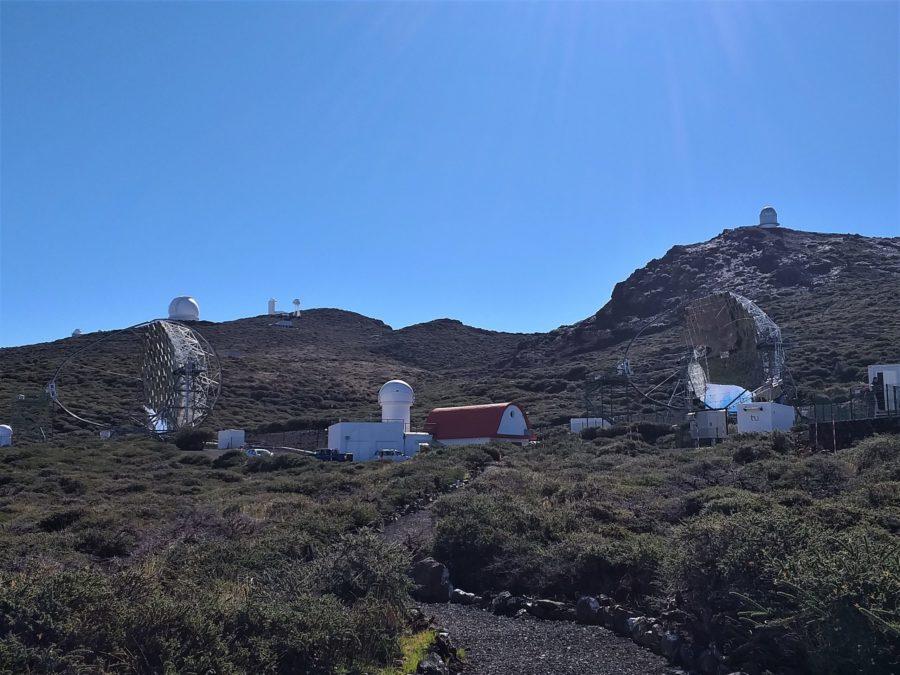 Los telescopios de La Palma