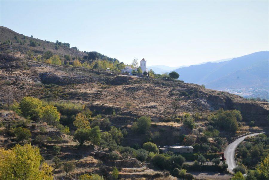 Vistas desde el mirador del Molino, Laujar de Andarax Almería