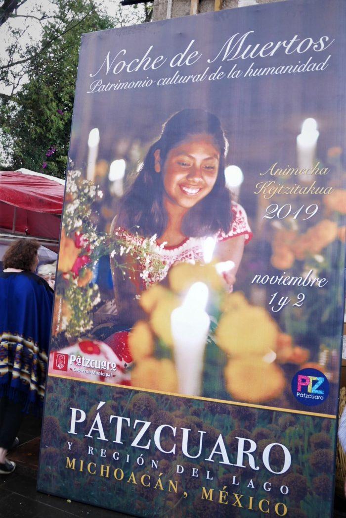 Cartel Noche de Muertos, Pátzcuaro
