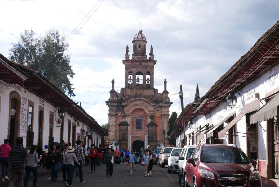Centro de Patzcuaro en Michoacán