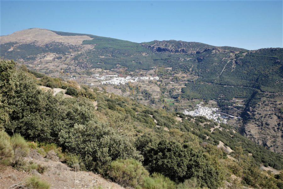 El barranco del Poqueira desde O Sel Ling, qué ver en La Alpujarra granadina