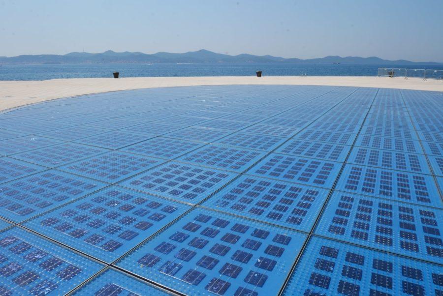 El saludo al sol en Zadar