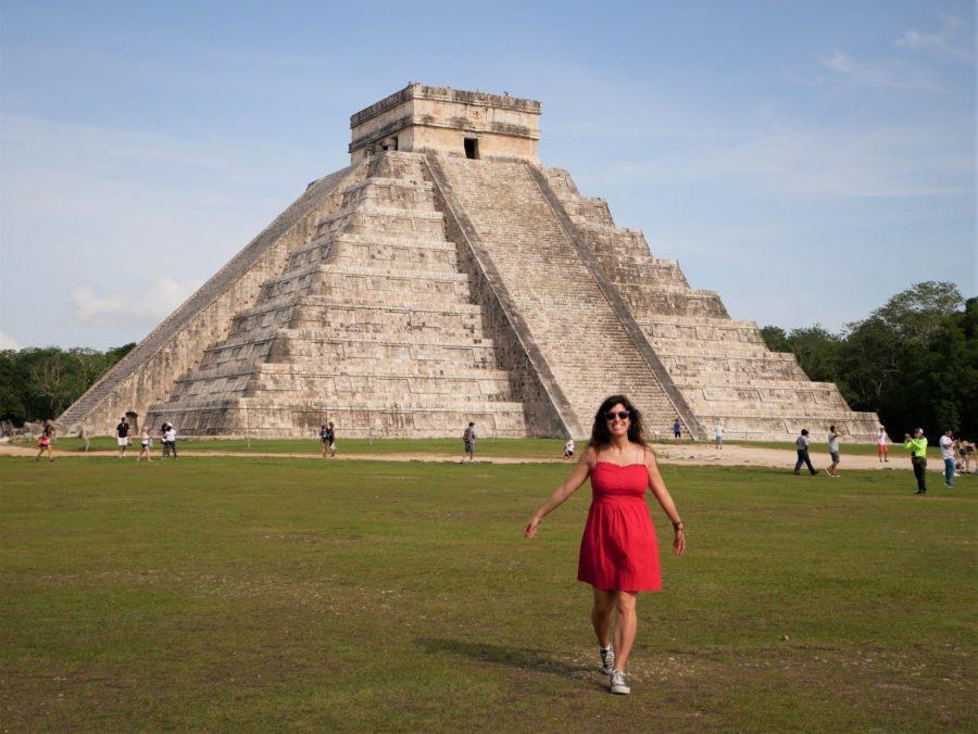 Feliz en Chichén Itzá