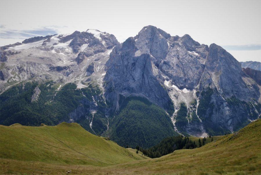 La Marmolada, montaña más alta de los Dolomitas