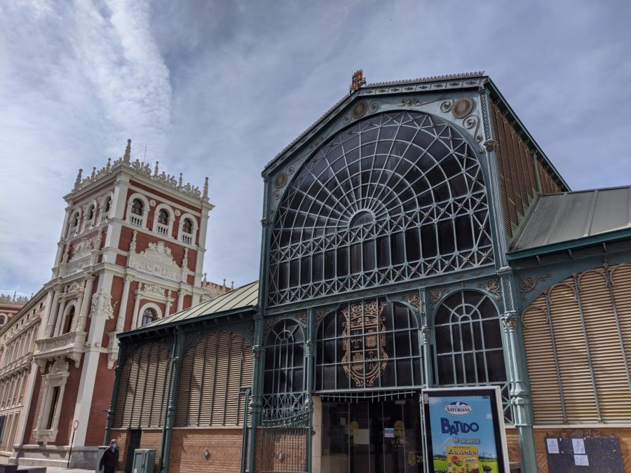 Mercado de abastos de Palencia capital
