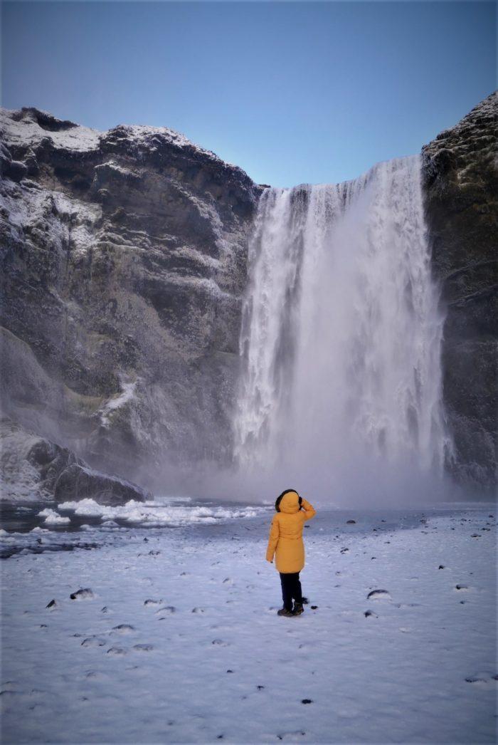 Skógafoss, la cascada del tesoro, las cascadas más bonitas de Islandia