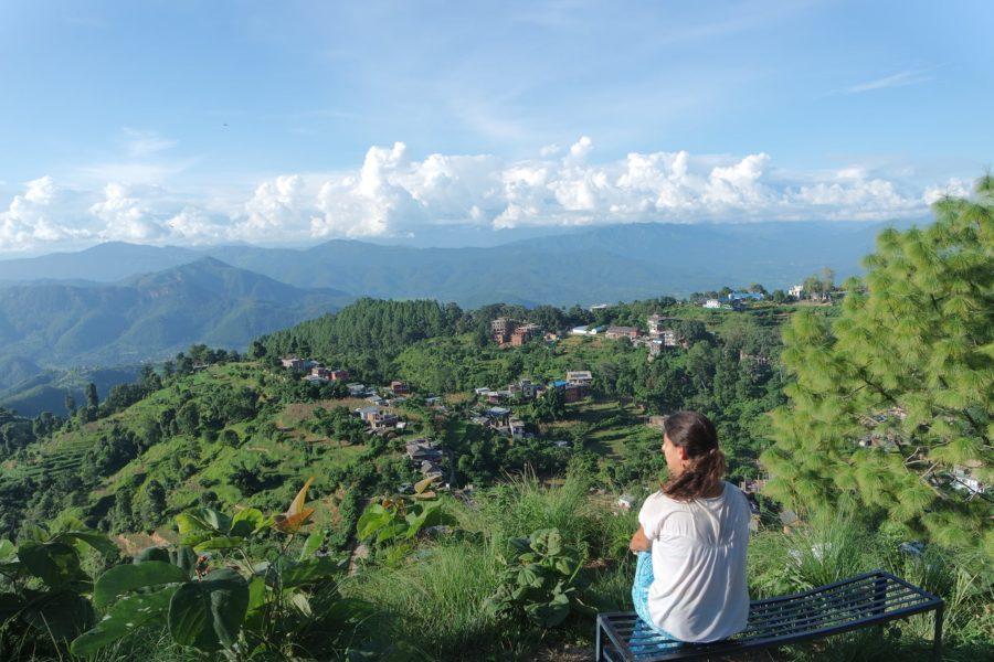 Vistas de Bandipur en Nepal