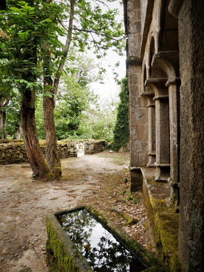 Antiguo claustro, Monasterio de Santa Cristina Ribeira Sacra