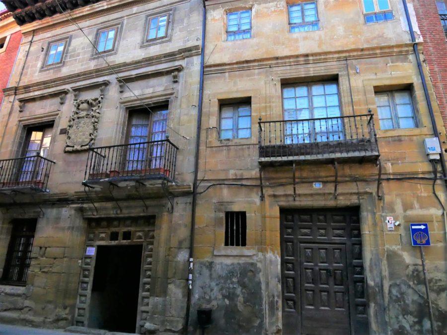 Casas blasonadas en Santo Domingo de la Calzada