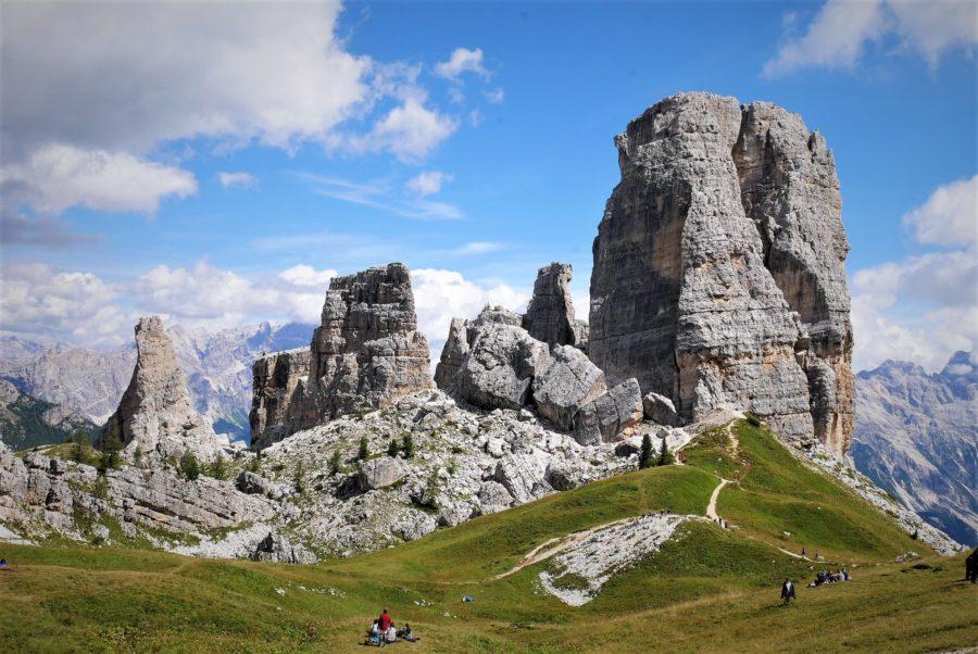 Cinque Torri, las cinco torres de Dolomitas