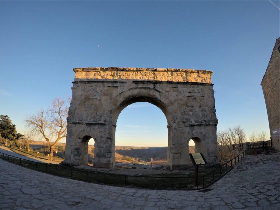 El Arco Romano de Medinaceli, Soria