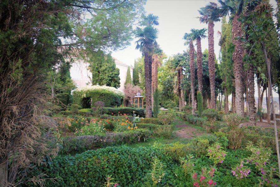 El Jardín de la Fábrica, sitios que ver en Brihuega, La Alcarria