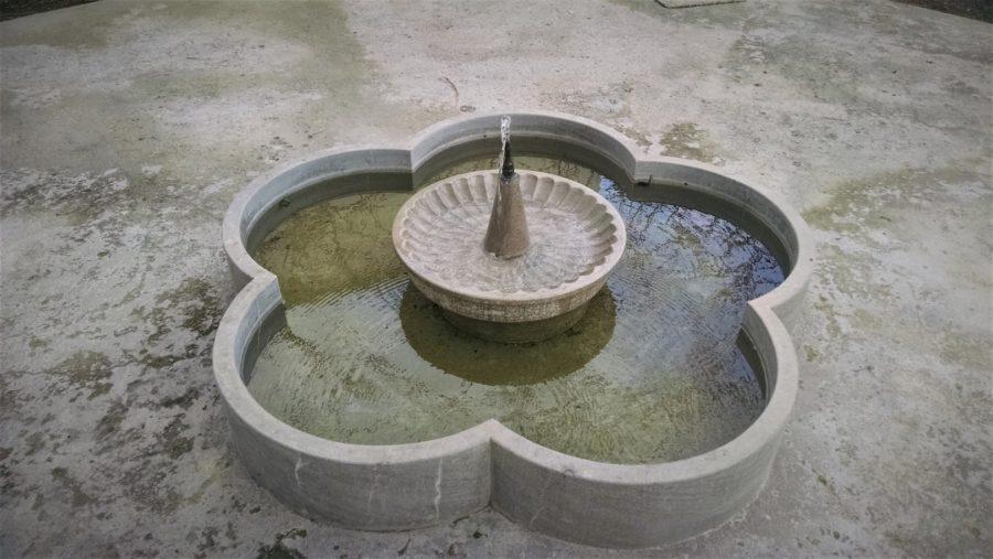 Fuente, Jardín Nazarí de Vélez de Benaudalla