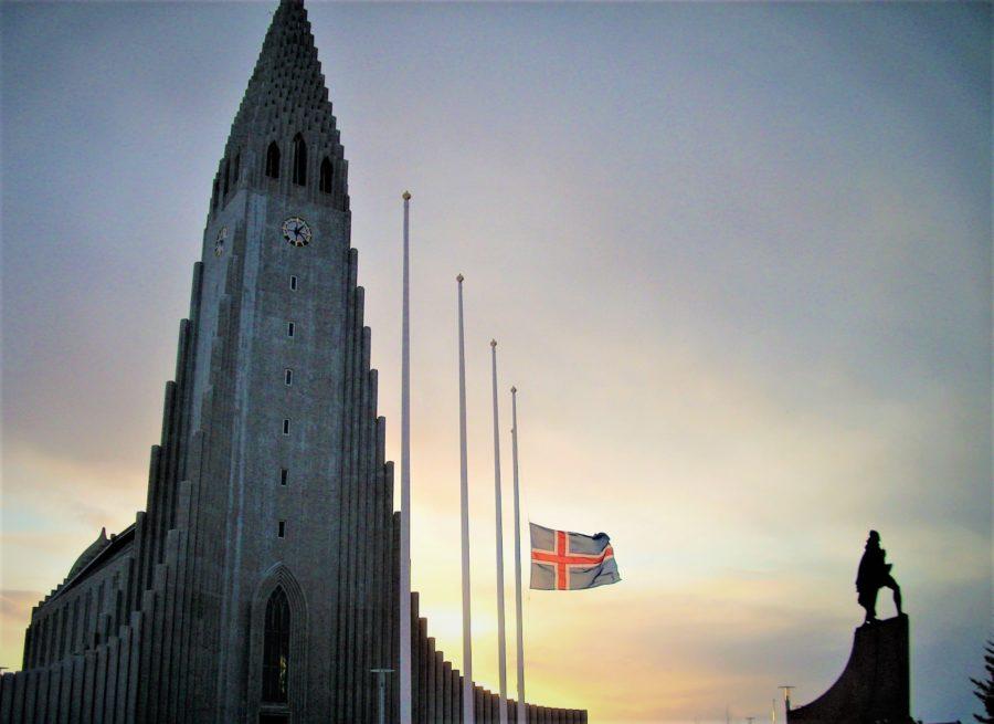 Iglesia de Hallgrímskirkja en Reikiavik