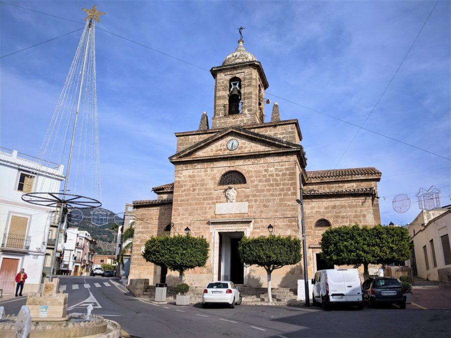 Iglesia de Vélez de Benaudalla, Granada