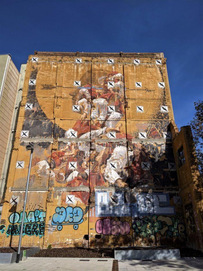 Mural de los Castellets, Poblenou