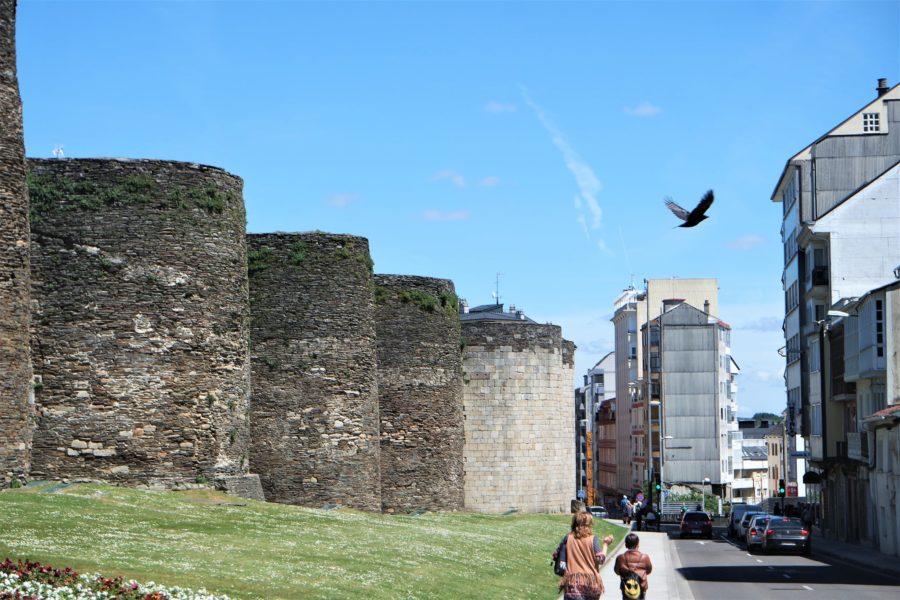 Muralla romana de Lugo, Galicia