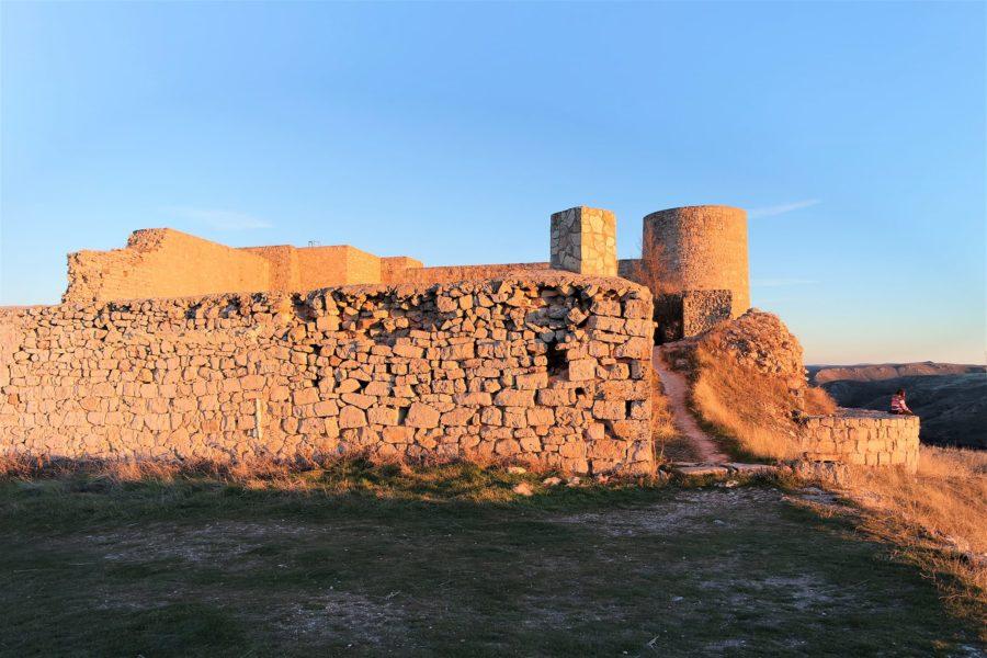 Ruinas del castillo medieval, qué ver en Medinaceli, Soria