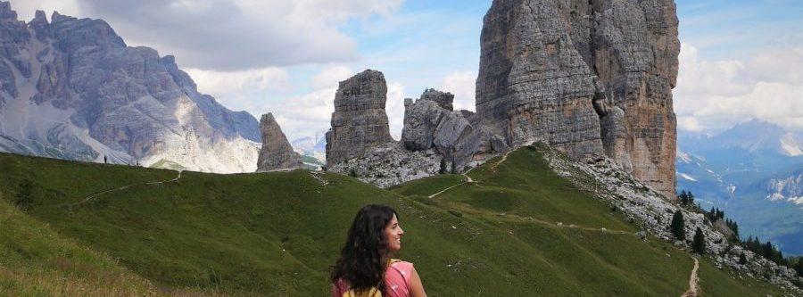 Trekking a Cinque Torri, Los Dolomitas