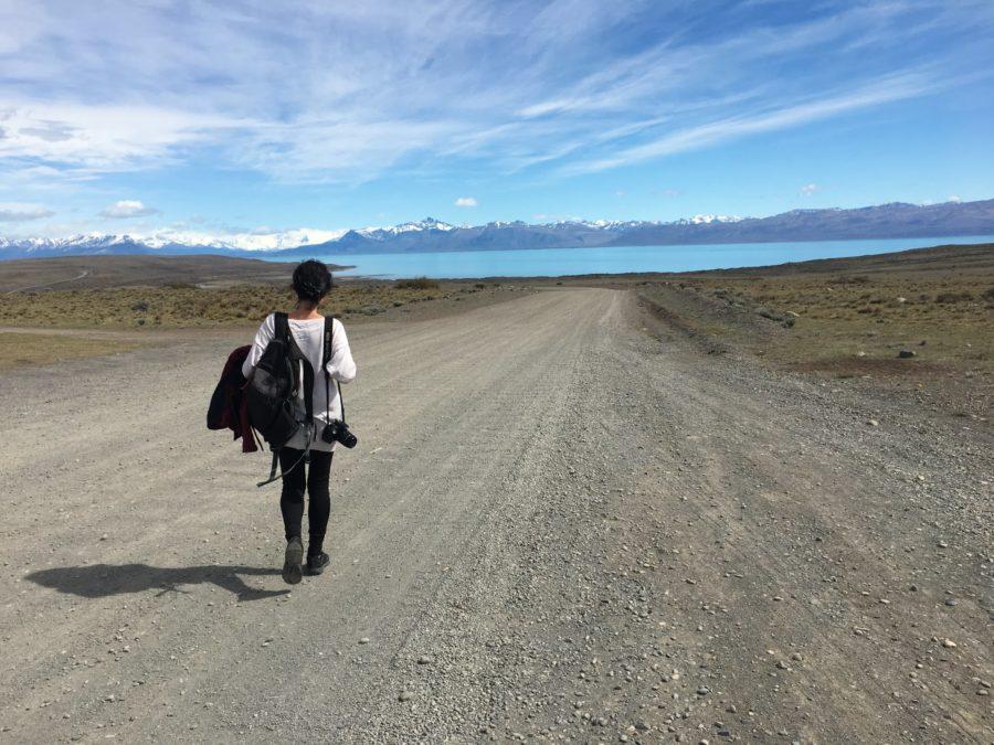Vero en la Patagonia Argentina