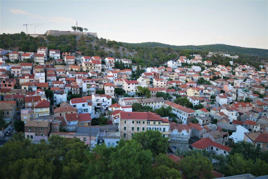 Vistas de Sibenik desde la fortaleza