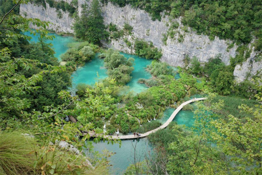 visitar los lagos de Plitvice en verano, Croacia