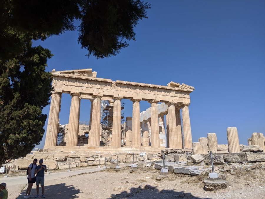 El Partenón, la Acrópolis