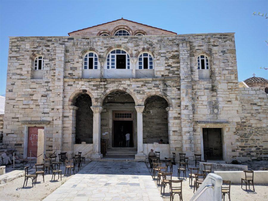 Iglesia bizantina de Panagia Ekatontapiliani, qué ver en Parikia