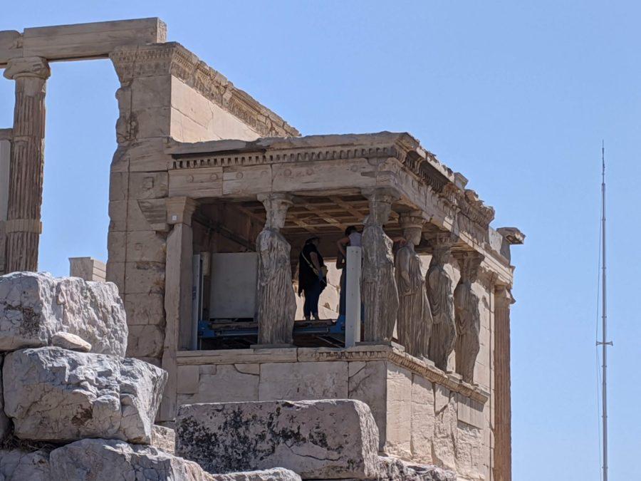 La Tribuna de las Cariátides, Acrópolis de Atenas