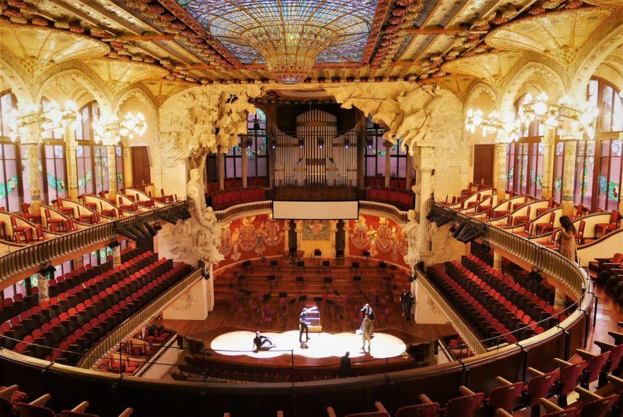 Palau de la Música Catalana, Guía de Barcelona